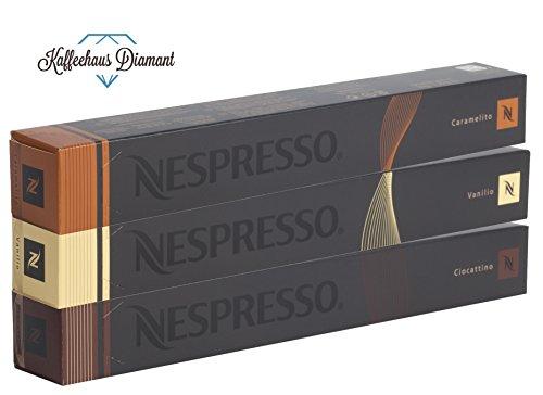 NESPRESSO-Espresso-Trio-Vanilio-Caramelito-Ciocattino-Variazioni-30-Capsule
