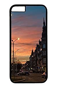 City Sights 14 Slim Hard For Iphone 6 4.7 Inch Case Cover Case PC Black Cases