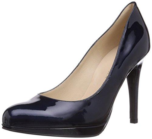 Peter Kaiser Nevena, Chaussures à talons avec plateau femme Bleu - Blau (NOTTE CABI 163)