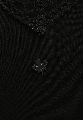 khujo - Robe - Portefeuille - Manches 3/4 - Femme Noir - Noir