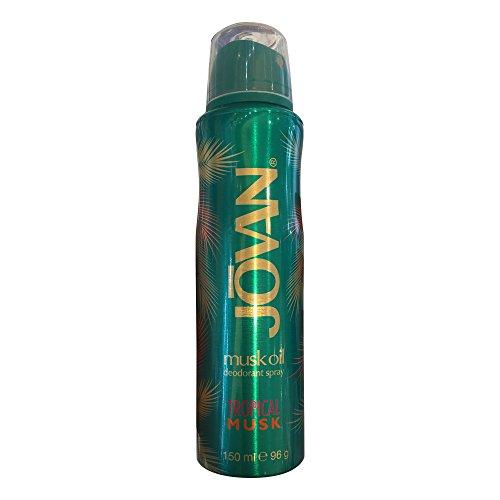 Jovan Damendüfte Tropical Musk Deodorant Body Spray 150 ml -