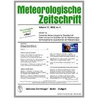 Meteorologische Zeitschrift [Jahresabo]