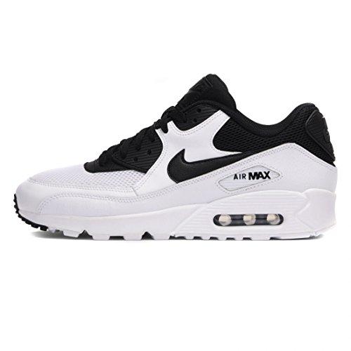 newest cc41c fb8ef Nike Air Max 90 Essential, Zapatillas Hombre, Blanco (White Black Black
