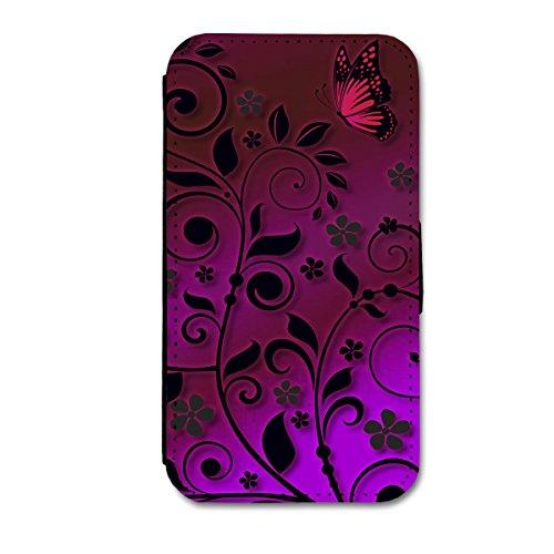 Book Style Flip Handy Tasche Case Schutz Hülle Schale Motiv Etui für Apple iPhone 5 / 5S - A14 Design3 Design 4