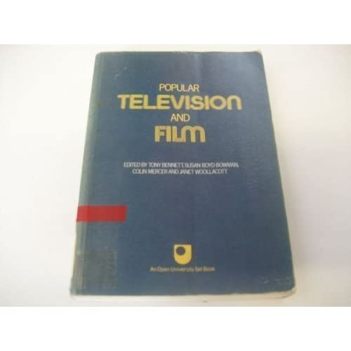 Popular Television and Film (Set books) by Tony Bennett (1981-09-03)
