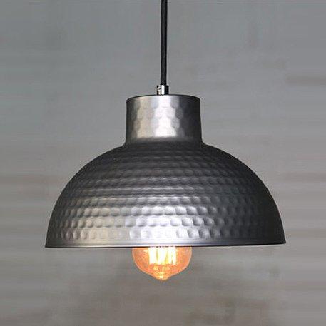 BAYCHEER Modern Hängelampe LED Lampe Aluminium Lampenschirm ø 26cm Retro Fabriklampe