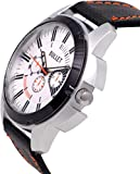 Bullet BLT_06 New Looks Black & White Casual Leather Analog Men's Watch