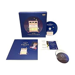 ASTRO 4th Mini Album - Dream Part.01 [NIGHT ver.] CD + Photobook + Postcard + Photocard + Transparent Photocard + FREE GIFT / K-pop Sealed