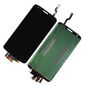 Full LCD Screen Display+Touch Digitizer Assembly Compatible for LG G2 D802 D805 Black
