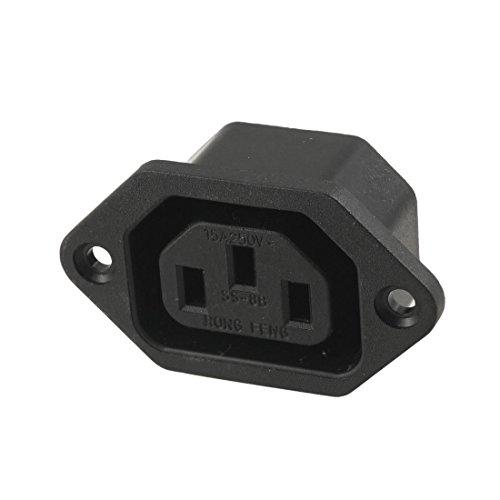 sourcingmap® AC 250V 10A IEC 320 C13 Montaggio Pannello Connettore A Spina spina