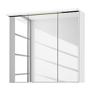 Giessbach Armoire de salle bain Zeehan - Blanc - 70 cm