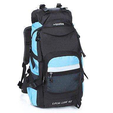 45 L Rucksack Wasserdicht tragbar Stoßfest Black