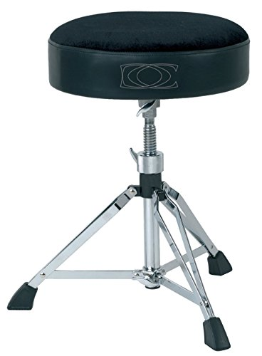 GEWA pure Schlagzeughocker rund DT-400, höhenverstellbar,
