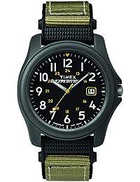 Timex T42571 Quartz Expedition Camper Orologio Analogico da Polso da Uomo, Nero/Verde