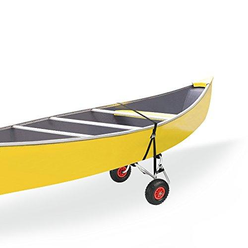 [casa.pro]® Kajakwagen Kanuwagen Surfwagen Aluminium Kajak Kanu Bootstrailer Alu