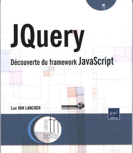 JQuery - Découverte du framework JavaScript