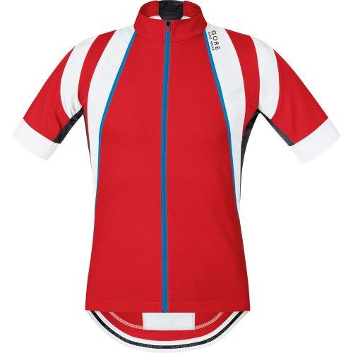 GORE WEAR Herren Oxygen Trikot, Red/White, XL -