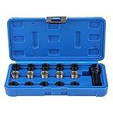 GOTOTOP 16 Stücke Zündkerzengewinde-Reparatursatz, Gewindegröße M14 x 1.25mm