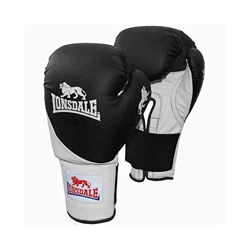Lonsdale Club Bag Boxing Gloves Punch Fight Mitts Training Sports Equipment