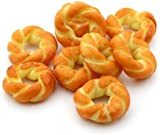8 x MyTinyWorld Dolls House Miniature Puff Pastry Twist Rings