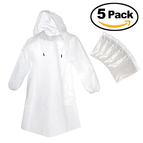 foxnovo-5pcs-portable-emergency-waterproof-disposable-raincoats-with-hat-cap-for-outdoor-travel-clea