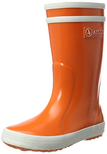 Aigle Unisex-Kinder Lolly Pop Gummistiefel Orange (Vermillon) 29 EU