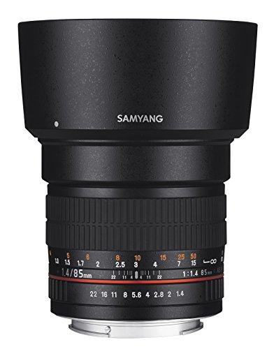 Samyang 85mm F1.4 Objektiv für Anschluss Nikon AE - 2