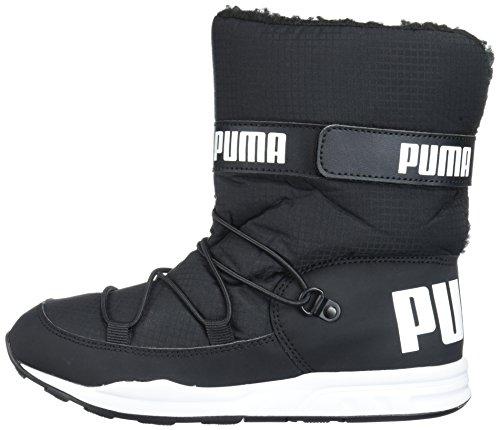 PUMA Baby Kids Trinomic Boot Sneaker  Black Black  6 M US Toddler