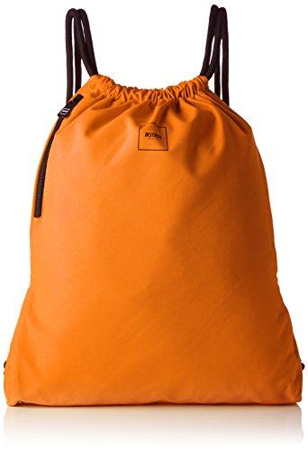 Imagen de mstrds basic unisex gym saco , color naranja neón, tamaño talla única