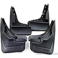 4pcs Car Mud Flap, Universal Splash Guard Kit Guardabarros, Frente de Coche y Traseros