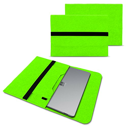 Odys Winbook 13 Sleeve Cover Hülle Tasche Notebook Filz Case Schutzhülle Laptop, Farben:Grün