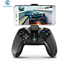 Detectoy GameSir G4 Bluetooth Gamepad con el sostenedor del teléfono para Android TV Box Tableta del teléfono con Cable o el regulador inalámbrico para los Juegos de PC VR