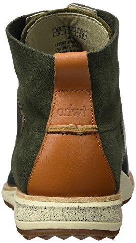 OHW? Gatland, Chaussures Bateau Homme Vert - Grün (DARK OLIVE)