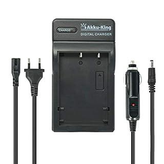 2in1 KFZ + Netz Ladegerät für Panasonic Akku DMW-BM7, CGR-S002, CGA-S002, CGA-S002E, CGR-S002A, CGA-S002A