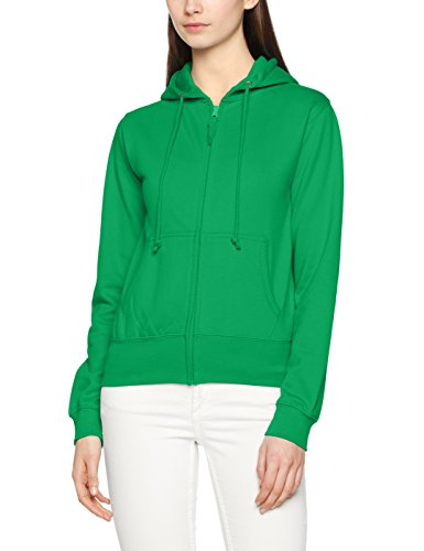 Awdis Girlie Zoodie, Cappuccio Donna Green (Kelly Green)