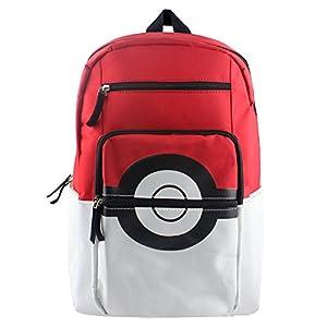 Pokemon Bolsas Escolares Mochila Pokémon Pikachu Elf Ball Mochila de Lona