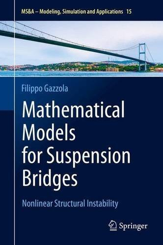 Mathematical Models for Suspension Bridges: Nonlinear Structural Instability (MS&A) by Filippo Gazzola (2015-05-24)