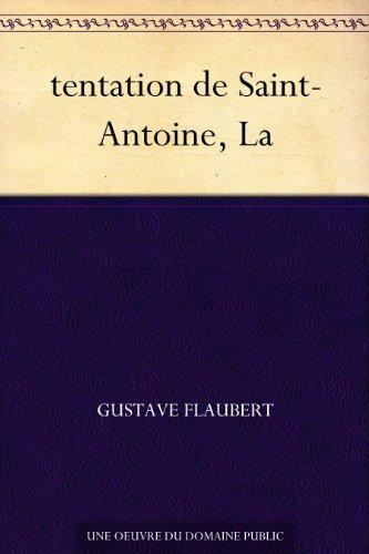 Couverture du livre tentation de Saint-Antoine, La