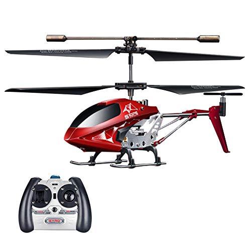 RC Hubschrauber Ferngesteuert Helikopter Kanal 3 Flugzeug mit Endstück-Gyroskop Ganzmetallgehäuse Kinderspielzeug Mini RC Fliegen Aircraft Spielzeug für Kinder