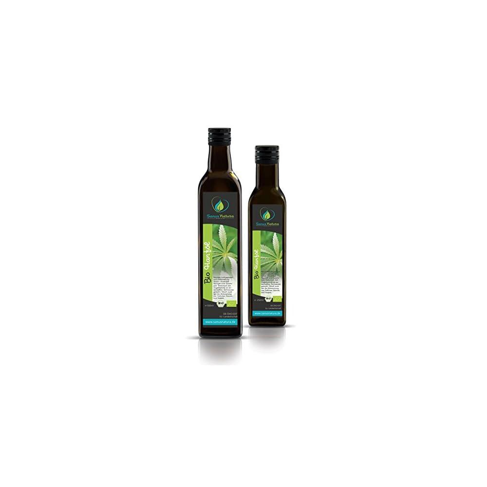 Sanus Natura Bio Hanfl 750ml Glasflasche