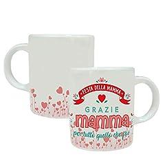 Idea Regalo - MP CREATIVE SRL Tazza Mug Festa della Mamma