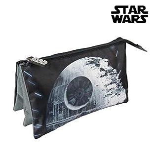Estuche portatodo 3 Compartimentos de Star Wars