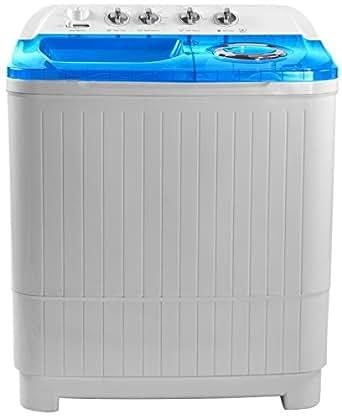 Micromax 7.5 kg Semi-Automatic Top Loading Washing Machine (MWMSA754TDRS1BL, Aqua Blue)