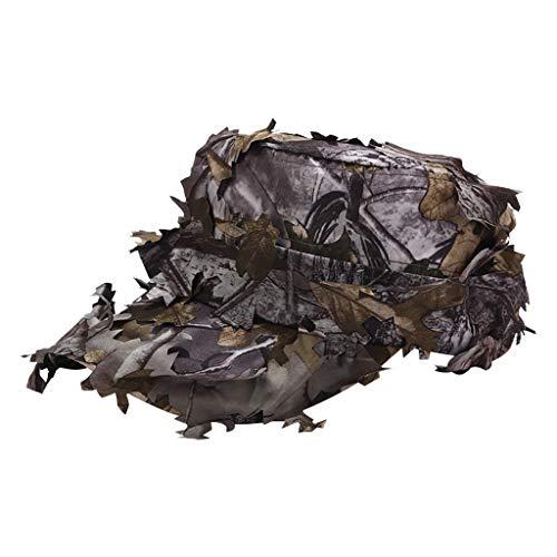 Syeytx Tactical Military Cap Hüte Mit Bionic Leaf Camo Hunting Simulierte Blätter Hut Jungle Cap Camo Military Cap