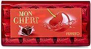Ferrero Mon Chéri- Praline di Cioccolato Extra con Ciliegia e Liquore, Confezione da 30 Praline - 315 gr