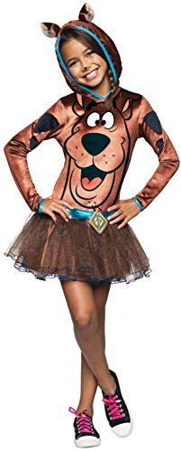 Girl 's Scooby-do Scooby Hoody Fancy Kleid Kostüm ()