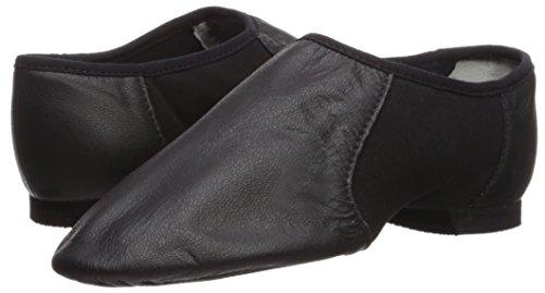 Bloch Neo-Flex Jazz, Chaussures de danse à chaussures, femmes, filles, Jazz antidérapant sur Noir