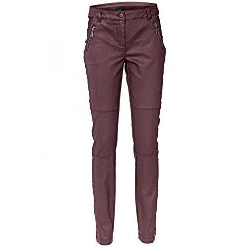 Pantaloni Pantaloni a sigaretta DONNA DI Best Connections in rosso scuro Rosso