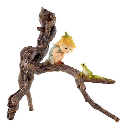 Top Collection Miniatur-Fairy Garden und Terrarium Garten Sprite mit Baum Frosch Statue