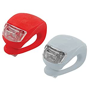 Silverline 752082 LED Clip-On Lights Front & Rear 2-Piece Set